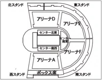 アリーナ 座席 横浜